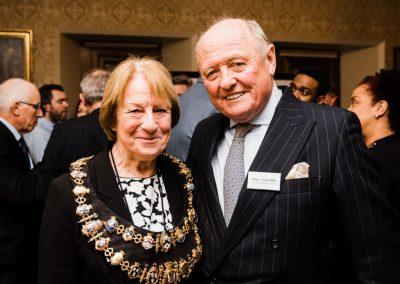 From left - Elizabeth O'Keefe, Roger Smee